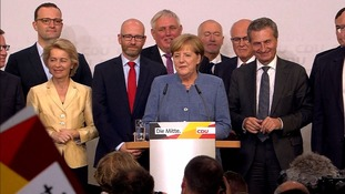 Angela Merkel said she would win back voters from nationalist Alternative for Germany.