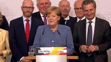 Angela Merkel set to win fourth term as German chancellor