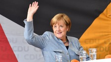 Angela Merkel 'wins fourth term as German chancellor'