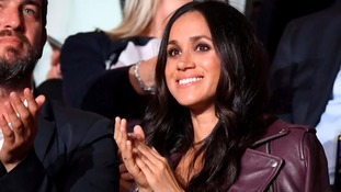 Meghan Markle at the Invictus Games opening ceremony.