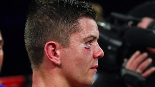 Campbell was beaten on a split decision on Saturday
