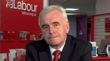 McDonnell: No Brexit debate at Labour conference 'democracy at work'