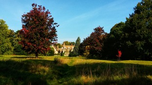 Anglesey Abbey near Cambridge in the sunshine