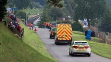 Twelve spectators injured after motorbikes crash at racing circuit