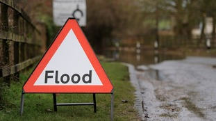 Flood warning in Nottinghamshire