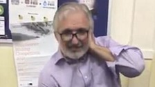 Dr Nasser Kurdy was stabbed outside Altrincham Islamic Centre.