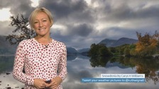 Wales Weather: Autumn mists!