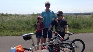 Carol Boardman seen here with two unidentified children Credit