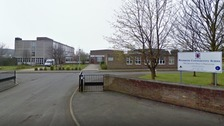 Schoolgirl, 16, arrested after staff member stabbed at school