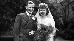 The couple married in September 1947 when Pauline was 20 and Dennis was 22.