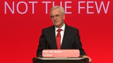 Watch John McDonnell's speech live at Labour Party conference