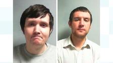 Ross Brennan (left) and Aarron Gledhill (right).