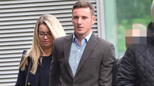 Liam and Victoria Rosney at Mold Crown Court.