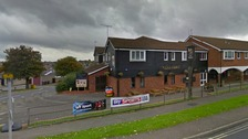 A noxious substance was thrown into the woman's face at the Glad Abbot pub in Bury St Edmunds