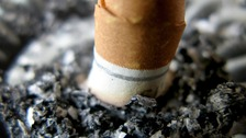 Kicking the habit - smokers rush to give up