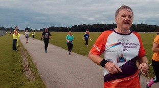 Man makes 'park run pilgrimage' in memory of his late wife