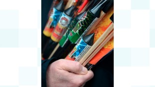 Fireworks sellers need an up-to-date explosive licence.