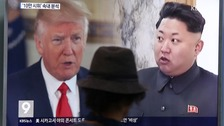 North Korea threatens US bombers after Trump statement