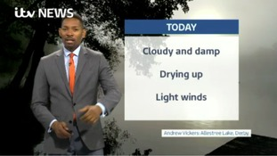 East Midlands Weather: Cloudy and misty but dry