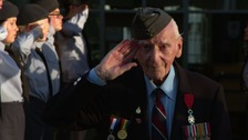 Inspiring Britain: The 93-year-old veteran still serving his country