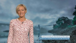 Wales Weather: Mild and murky overnight!