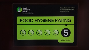 Call for England to follow Wales' lead in displaying food hygiene ratings