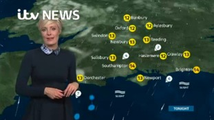 Monday night's weather for the west of the region