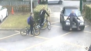 Parent jailed for driving car into teacher at Woking school over parking ban