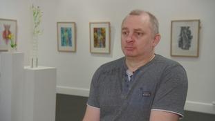 Gary Nicolson has a new life as an artist.