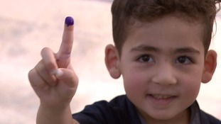 History at their fingertips: Iraqi Kurds celebrate in historic vote the US and UK didn't want to see