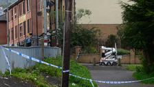 Viable bomb found in west Belfast alert