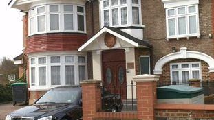 The seven-bedroom suburban embassy in Ealing used to be owned by Carry On star Sid James.