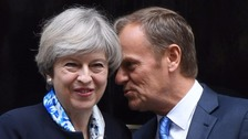 Theresa May to hold Brexit talks with Donald Tusk