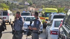 Palestinian gunman kills three Israelis in West Bank