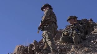 The Marines celebrated gaining their first female officer.