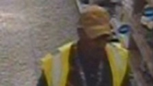 Police would like to speak to the man in this CCTV image in connection with an incident at an Asda supermarket.