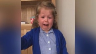 Cardiff mum captures moment gender reveal with daughter goes wrong