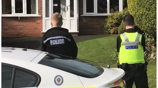 Police guard property after 'murder suicide'