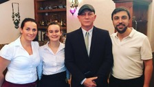 James Bond causes stir at Cambridge cafe