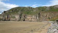 Male body part found on Brean beach