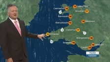 Wales Weather: Clouds will burn away for warm pleasant day