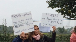 Farmers join anti-fracking campaign in North Yorkshire
