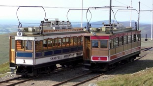 IoM government suspends Snaefell Mountain Railway trams