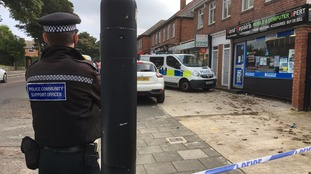 Bomb disposal experts search property in Newcastle
