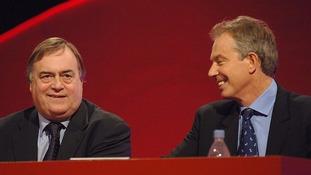 John Prescott and Tony Blair in 2006.