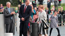 Duke of Cambridge helps MK celebrate its 50th anniversary