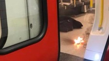 Phone charger explodes on the Tube at Tower Hill