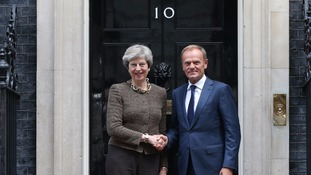 Donald Tusk: 'Philosophy' of UK having Brexit 'cake and eating it, is at an end'