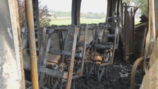 Charity 'heartbroken' following minibus arson attack