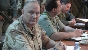 General Schwarzkopf commanded the first Gulf War